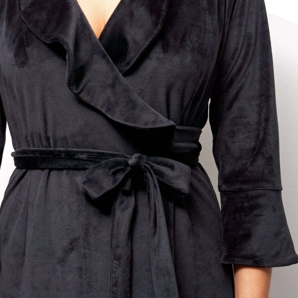 Dressing gown for beautiful homewear
